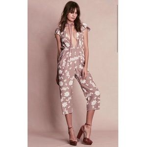 NWT FOR love and Lemons Sweet Jane Floral Jumpsuit